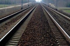 Rail Road Tracks Royalty Free Stock Image