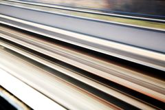 Rail-road tracks background Stock Images