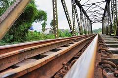 Rail Rust Last Long Royalty Free Stock Image
