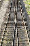 A rail shooter, top view, Russia Royalty Free Stock Photo