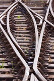 Rail Sidelines Royalty Free Stock Photography