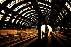 Rail Station Stock Photos