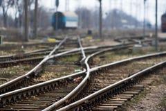 Rail station Stock Images