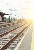 Rail station. Stock Photography