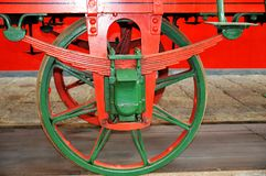 Train Wheel Royalty Free Stock Images