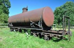 Rail tank car Stock Images