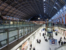 Rail terminal at Saint Pancras in London, England Stock Photo