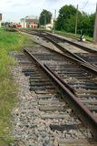 The rail track Stock Photography