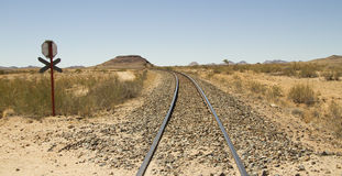 Rail track Stock Photos