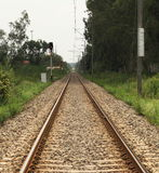 Rail Track Stock Images