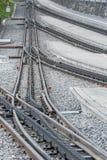 Rail track Royalty Free Stock Photo