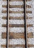Rail tracks. Rail road stock photo