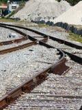 Rail tracks Royalty Free Stock Photography