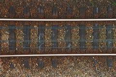 Rail tracks Stock Photo