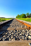 Rail Tracks Stock Photo