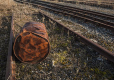 Rail tracks Royalty Free Stock Photos