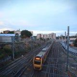 Rail traffic Royalty Free Stock Photos