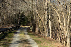 Rail trail Stock Images