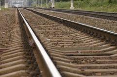 By rail train Royalty Free Stock Photo