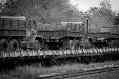 Rail transport. Royalty Free Stock Photos
