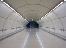 Rail transport, subway city of San Sebastian (Donostia). Stock Image