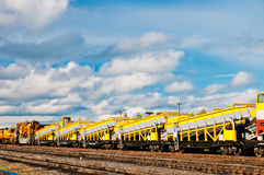 Rail Transportation Royalty Free Stock Photography