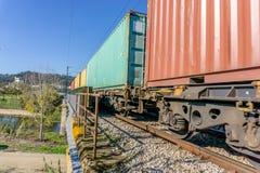 Rail transportation or freight transportation.  stock photography