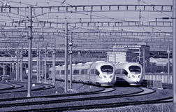 Rail ultra-rapide chinois Images stock