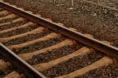 Rail way Royalty Free Stock Images