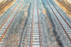 Rail way background Stock Images