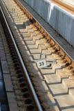 Rail way detail Stock Photos