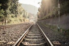 Rail way Royalty Free Stock Photography