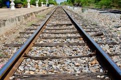 Rail way at Sakreo station Stock Photos