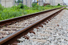 Rail way. Stock Image