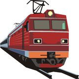 Rail way transporter Stock Photo
