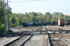 Rail yard Stock Images