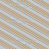 Rail Yard Tracks Stock Photo