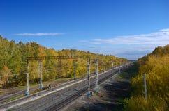Rail1 Images libres de droits