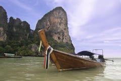 Railay海湾泰国海滩 免版税图库摄影