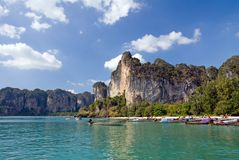 Railay beach Royalty Free Stock Image