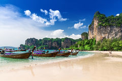 Free Railay Beach In Krabi Thailand Stock Photography - 52895242