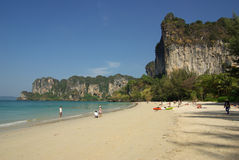 Railay beach, Krabi province, Thailand Royalty Free Stock Photos