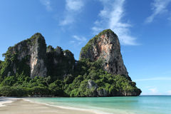Railay beach, krabi, thailand Stock Images