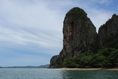 Railay beach - Krabi Thailand Royalty Free Stock Images