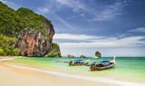 Railay beach Stock Photo