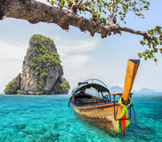 Railay beach Royalty Free Stock Photo