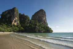 Railay beach in Krabi Stock Images