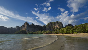 Railay beach in Krabi Stock Photography