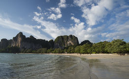 Railay beach in Krabi Stock Photos