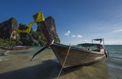 Railay beach in Krabi Royalty Free Stock Images